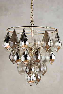 Slide View: 2: Clustered Droplet Chandelier