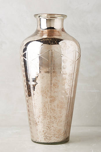 Etched Mercury Vase