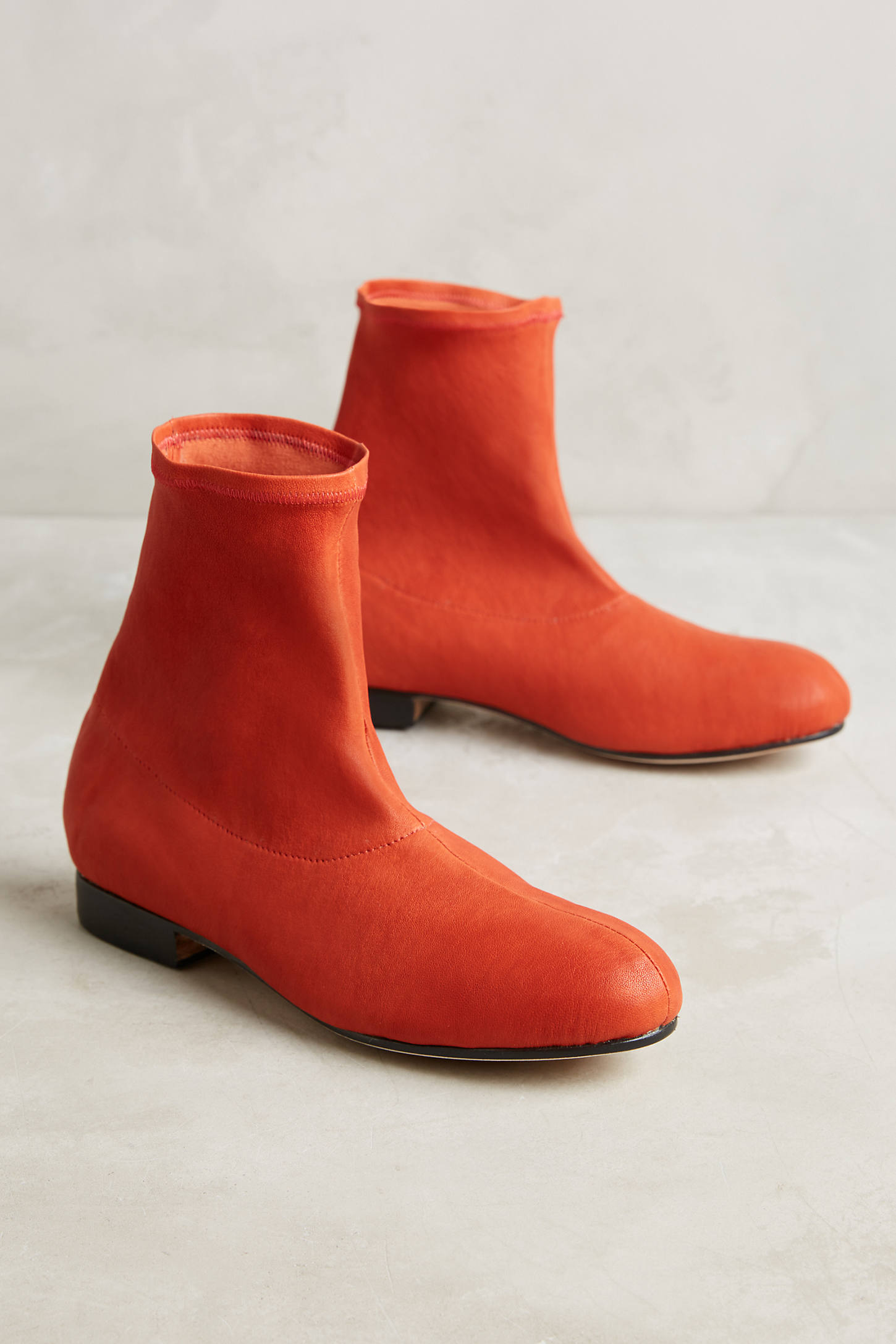 The Palatines Firmo Velvet Ankle Boots