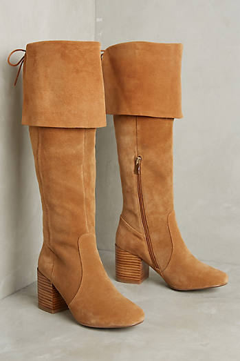 Matiko Suede Over-The-Knee Boots