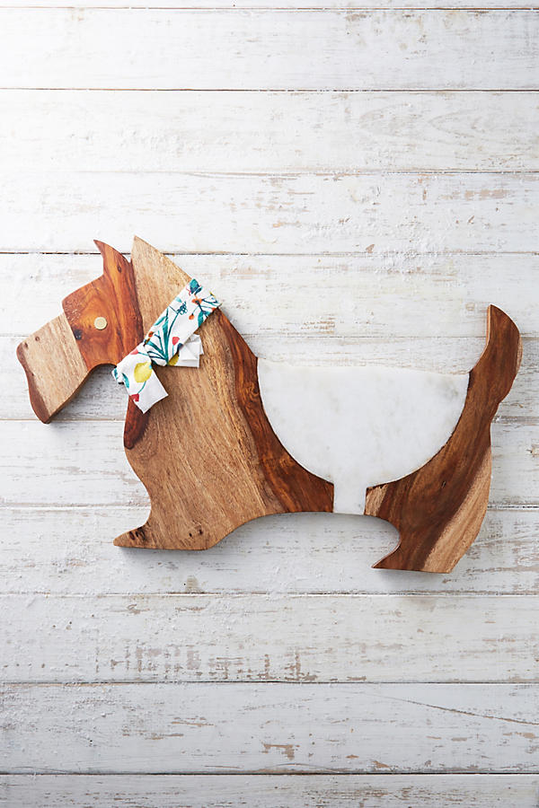 Scottie Cheese Board Anthropologie