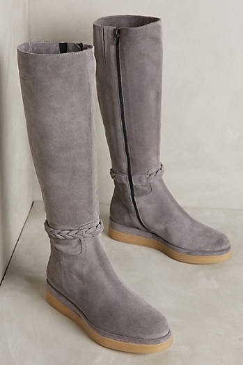 Miss Albright Braided Knee Boots