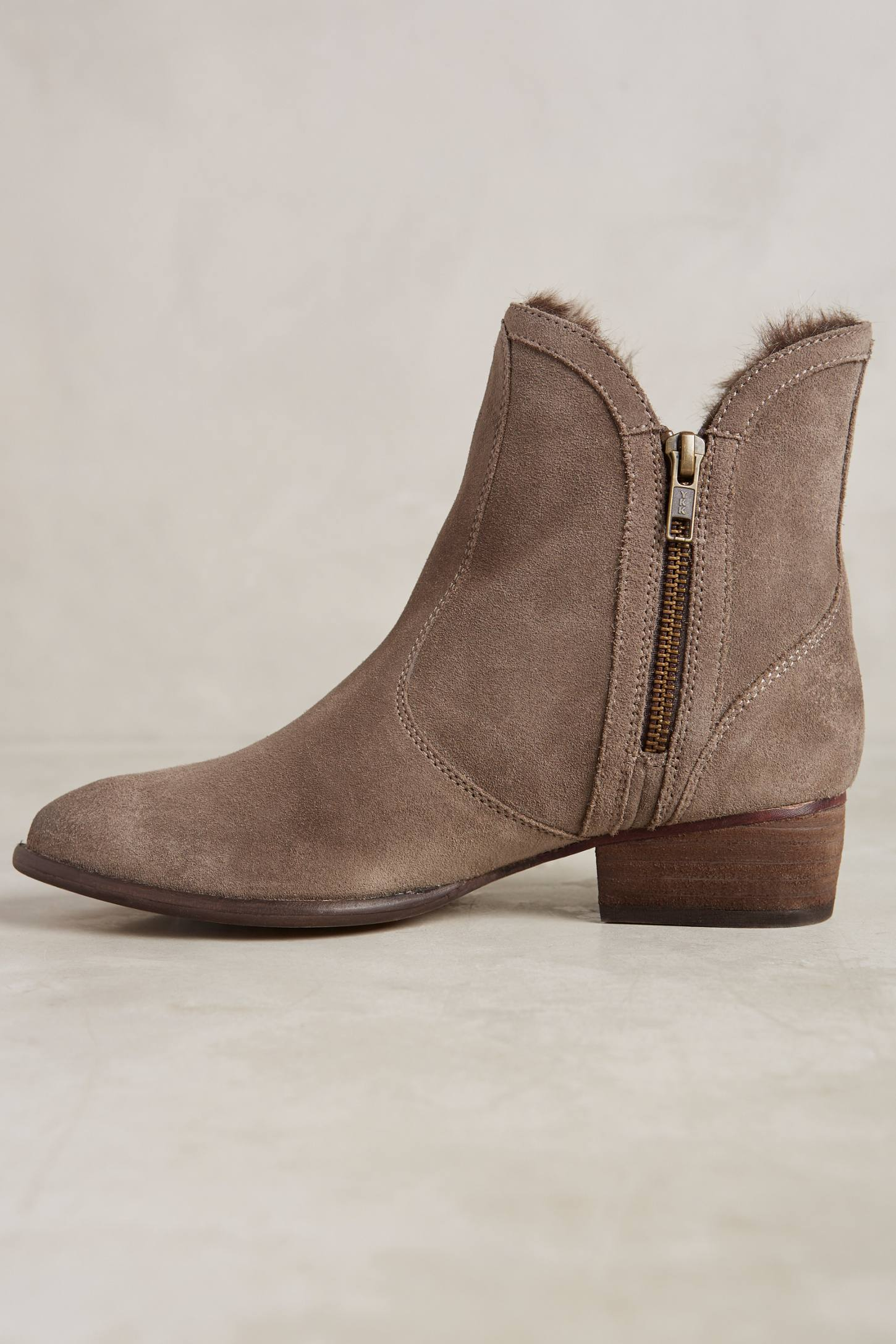 Slide View: 3: Seychelles Lucky Penny Ankle Boots
