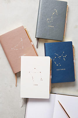 These journals make cute zodiac sign gifts!