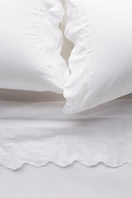 Slide View: 1: Embroidered Sateen Sheet Set