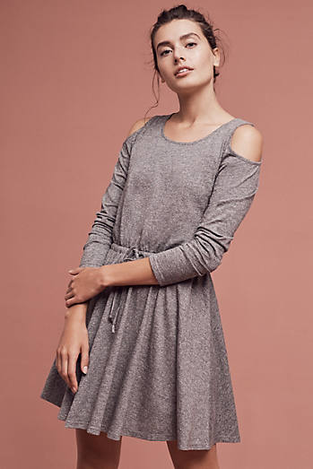 Jamma Open-Shoulder Dress