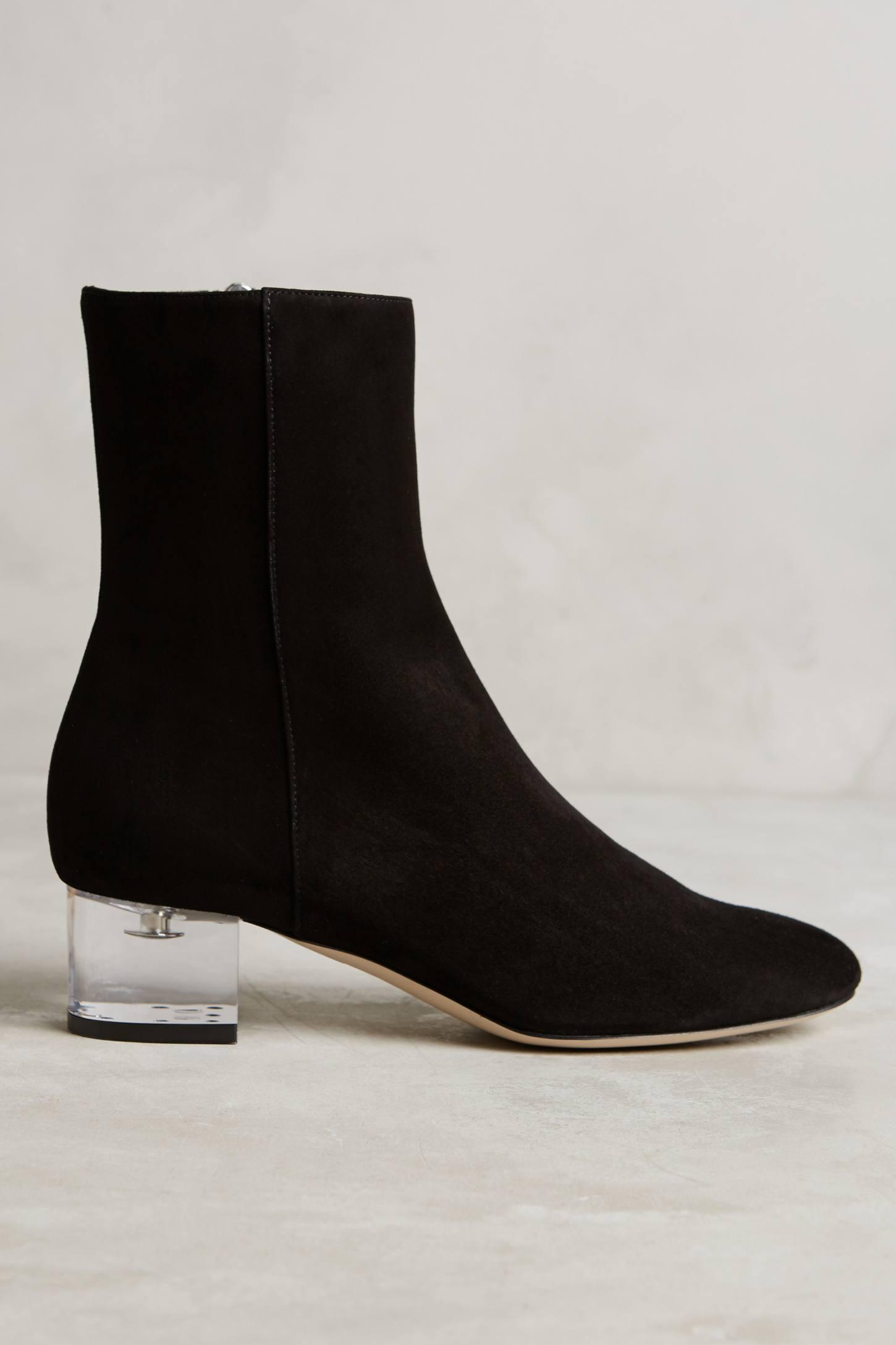 Booties Bedroom Shoes Black