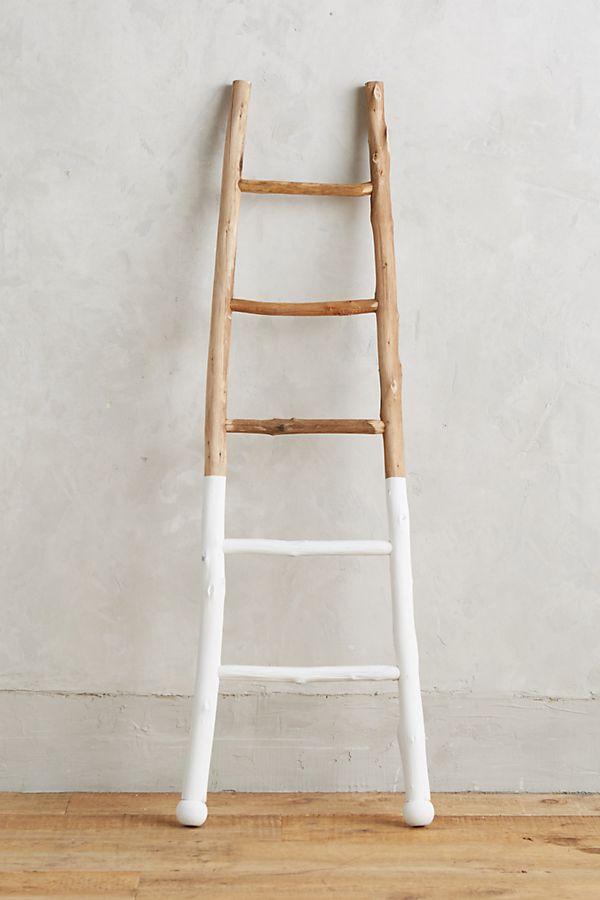 white dipped ladder anthropologie