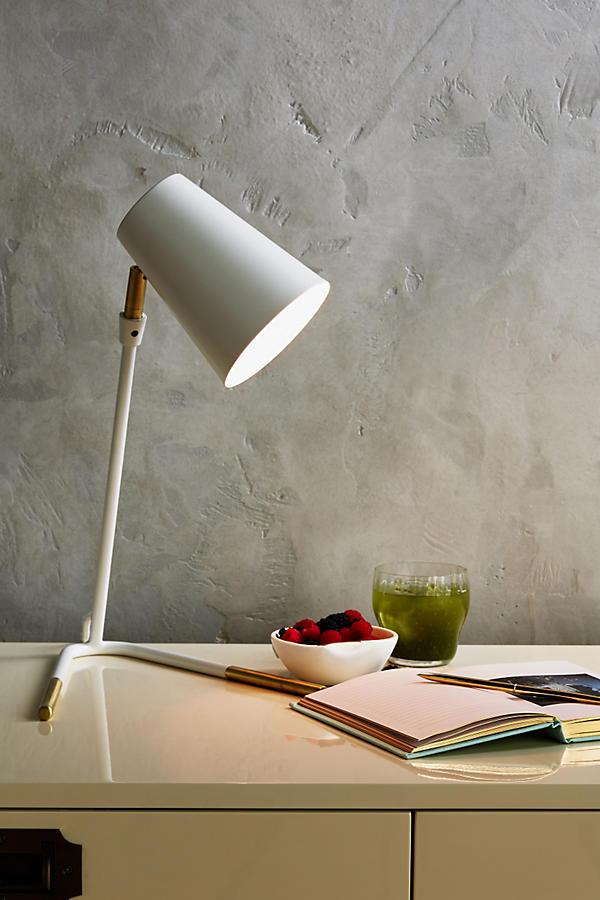 Slide View: 4: Gold-Dipped Task Lamp