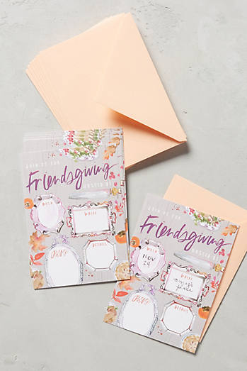 Friendsgiving Invitation Set