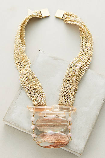 Luma Mesh Necklace