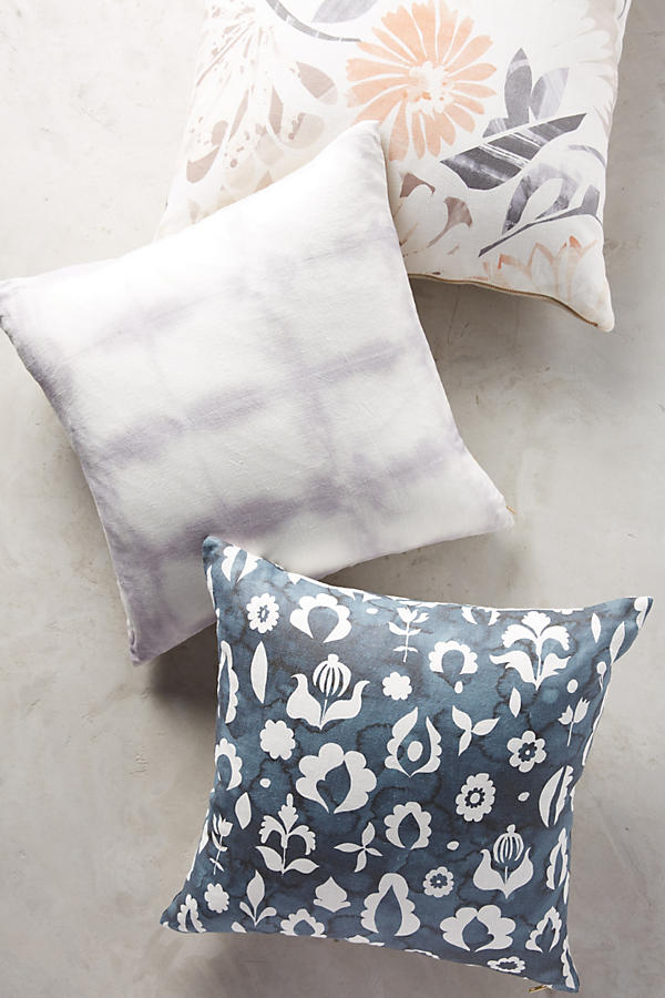 Slide View: 2: Rebecca Atwood Floral Medallion Pillow