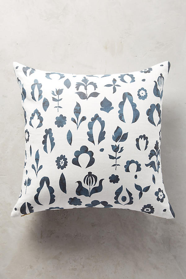 Slide View: 3: Rebecca Atwood Floral Medallion Pillow