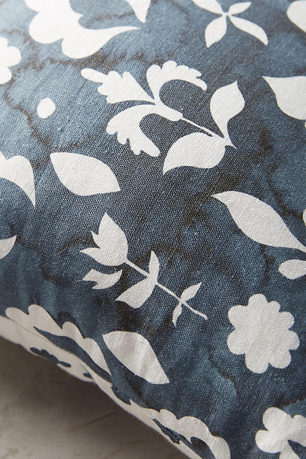 Slide View: 4: Rebecca Atwood Floral Medallion Pillow