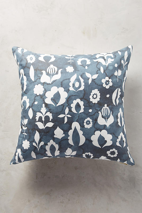 Slide View: 1: Rebecca Atwood Floral Medallion Pillow