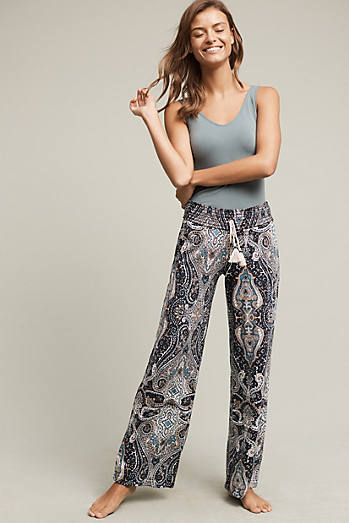 Paisley Knit Sleep Pants