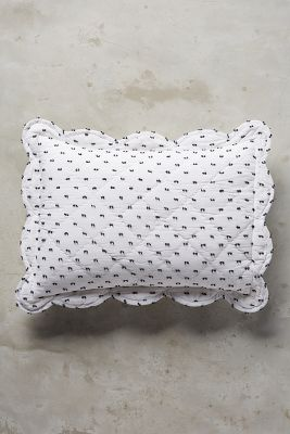 Swiss Dot Toddler Sham by Anthropologie