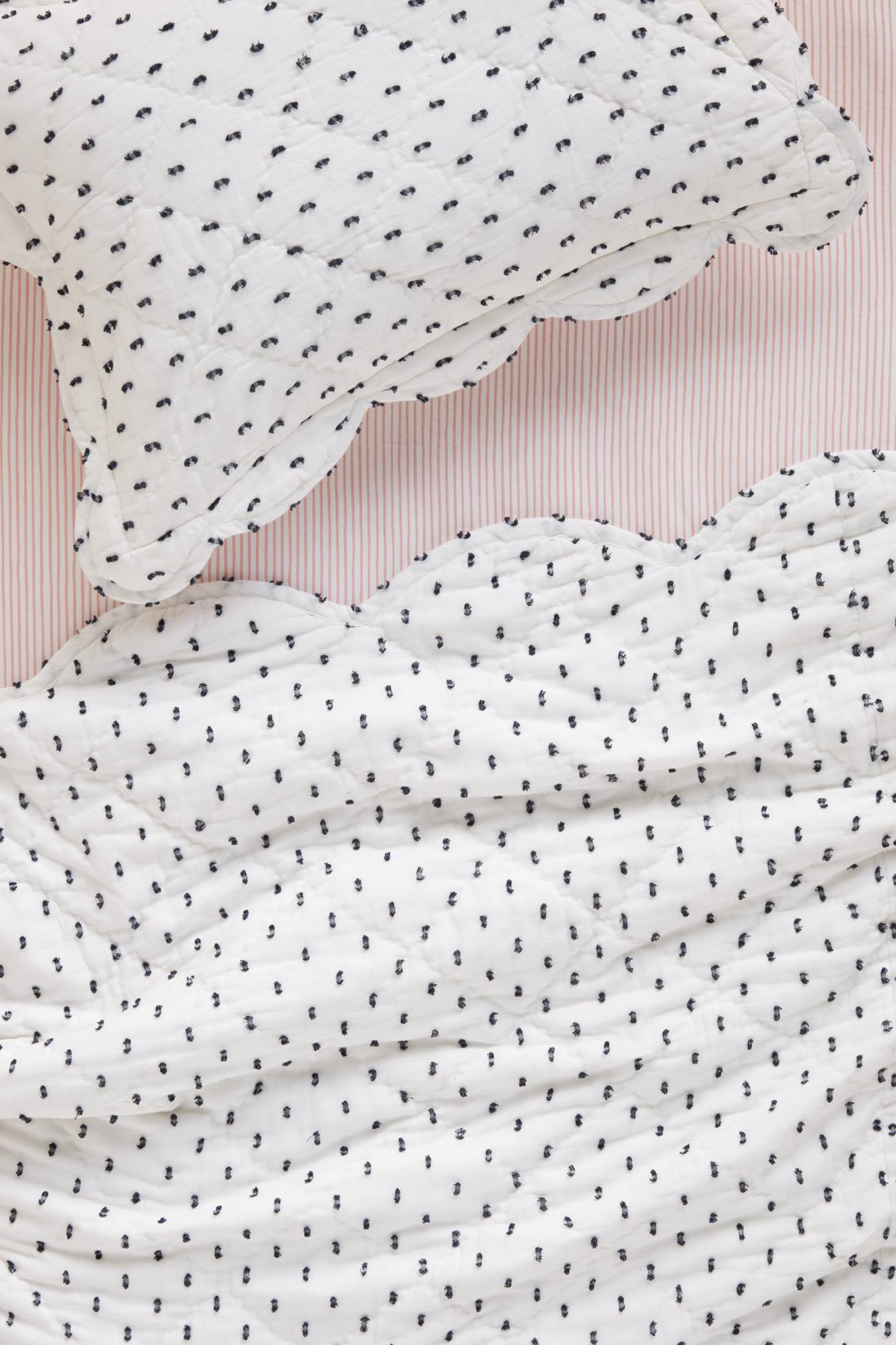 Swiss Dot Toddler Sham