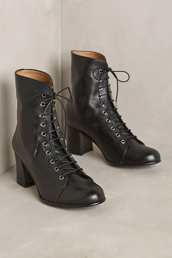 About Arianne Stevie Lace-Up Booties