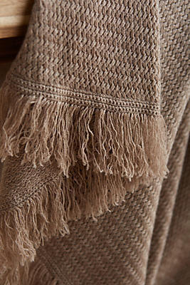 Slide View: 2: Cashmere Cole Throw Blanket
