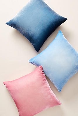 Slide View: 3: Kevin O'Brien Ombre Velvet Pillow