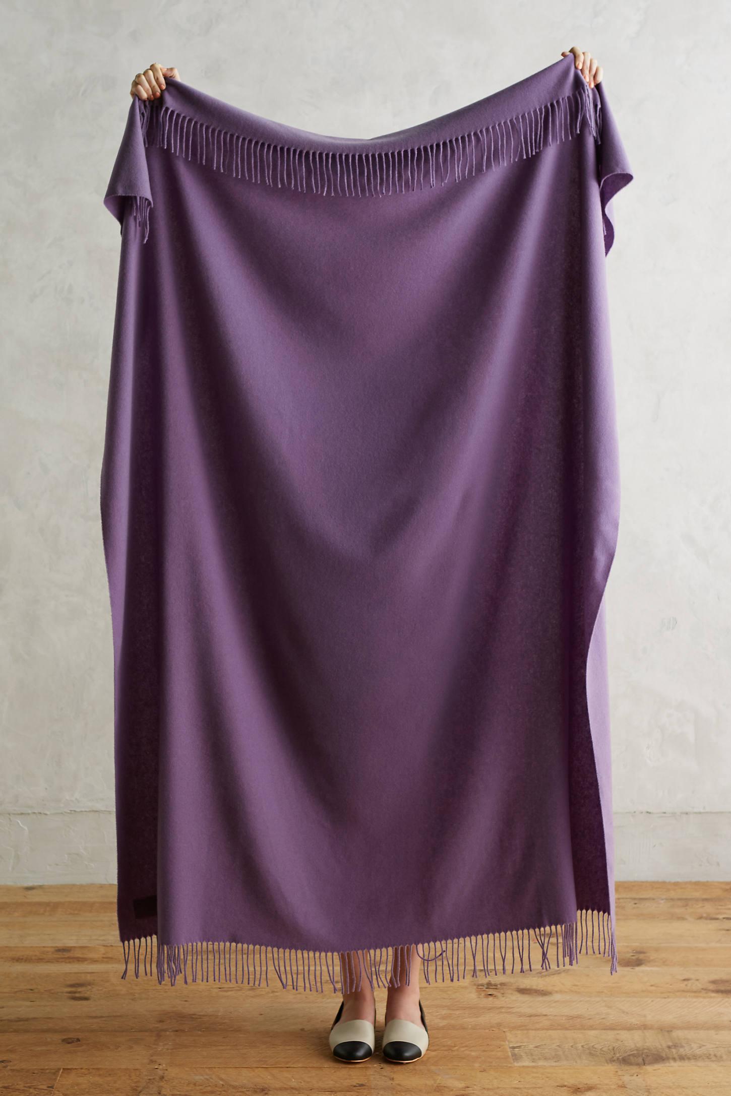 Italian Cashmere Throw Blanket