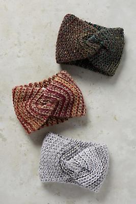 Marled Knit Earband