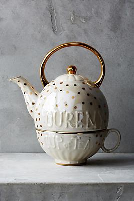 Sweet Sentiment Teapot