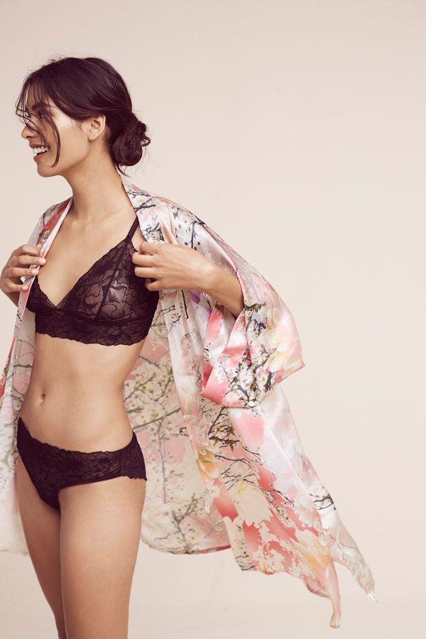 Samantha Chang Samantha Chang Love Story Silk Kimono Robe