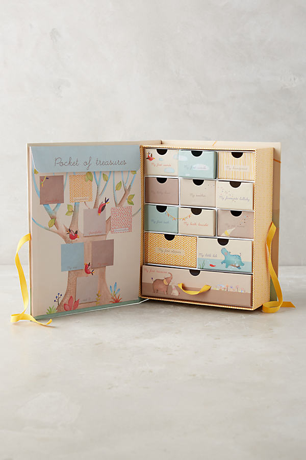 Childhood Treasures Souvenir Box - Peach