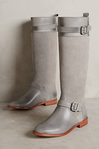 Candela Knee-High Moto Boots