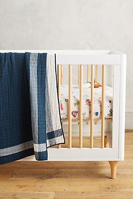 Farmhouse Stripe Toddler Quilt