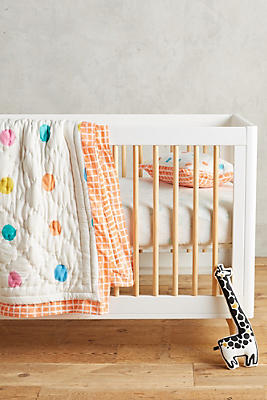 Dotingly Dotted Toddler Quilt & Playmat