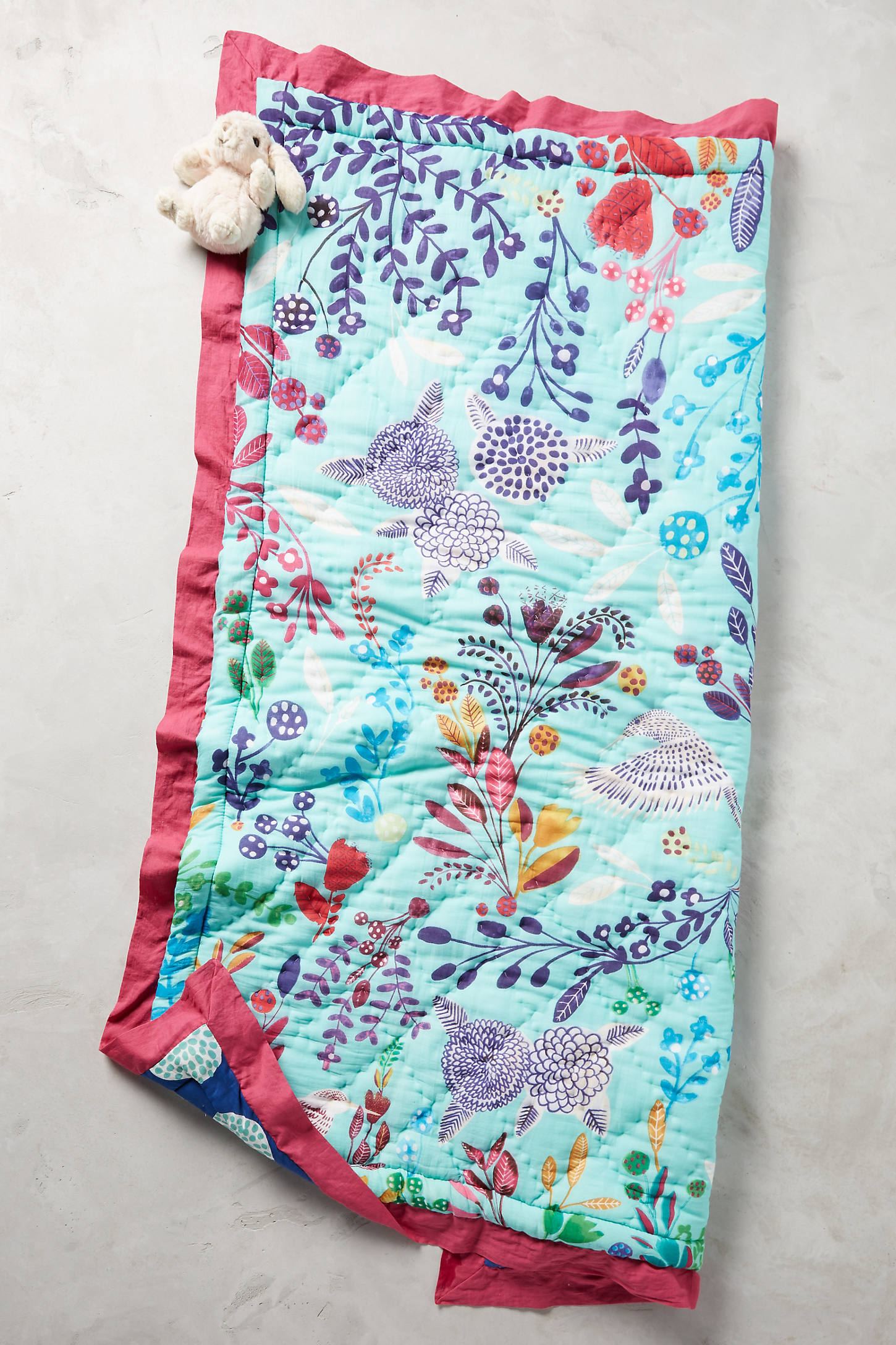 Folkloric Toddler Quilt & Playmat