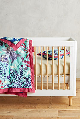 Slide View: 2: Folkloric Toddler Quilt & Playmat