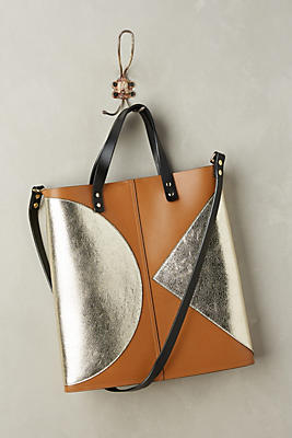 Slide View: 1: Laurel Metallic Tote