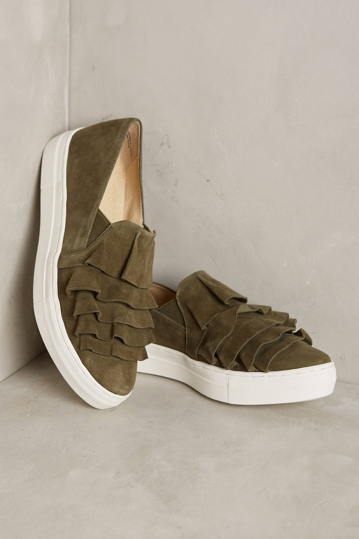 Seychelles Larissa Ruffle Sneakers
