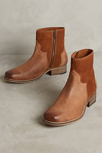 Seychelles Crossing Western Ankle Boots