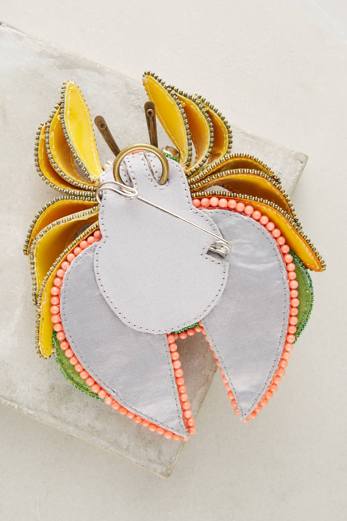 Slide View: 2: Sandie Bug Brooch