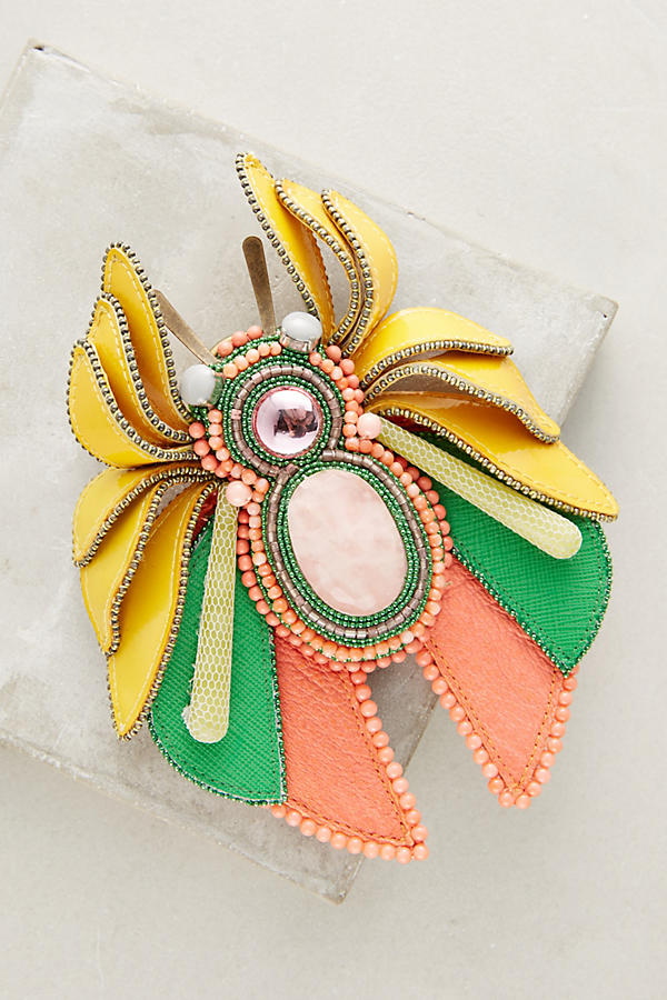 Slide View: 1: Sandie Bug Brooch