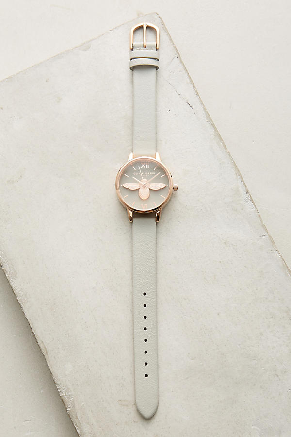 Slide View: 1: Montre abeille grise