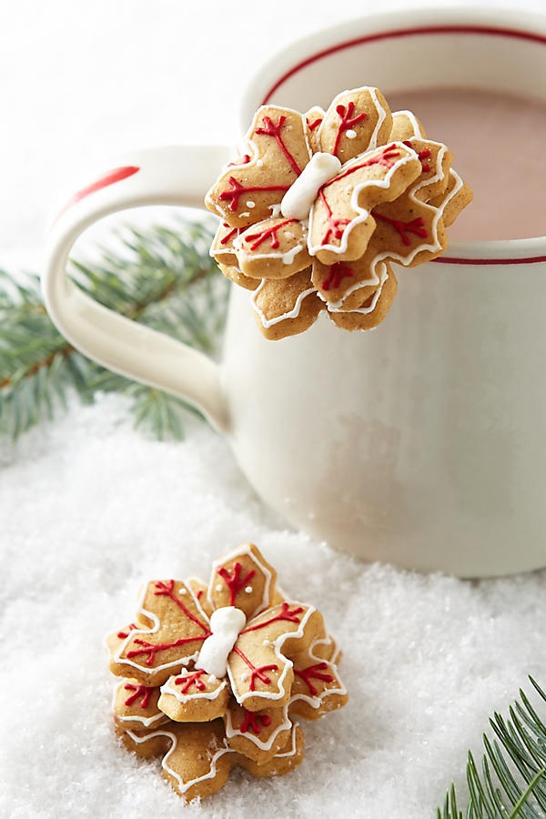 Slide View: 1: Snowflake Mug Toppers