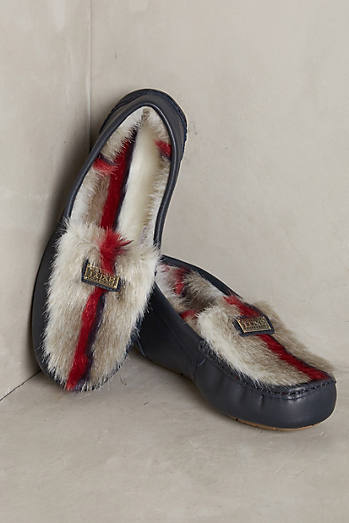 Australia Luxe Collective Piquet Faux-Fur Loafers