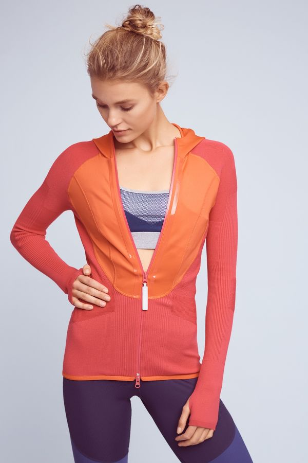 Adidas by Stella McCartney Adidas by Stella McCartney Tri-Toned Runner's Hoodie