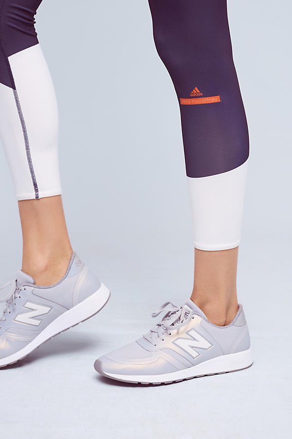 Slide View: 3: Adidas by Stella McCartney Florablocked Runner's Leggings