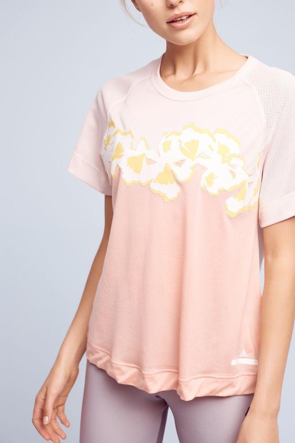 Adidas by Stella McCartney Adidas by Stella McCartney Flower Yoga Tee