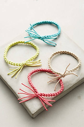 Braided Hair Tie Set