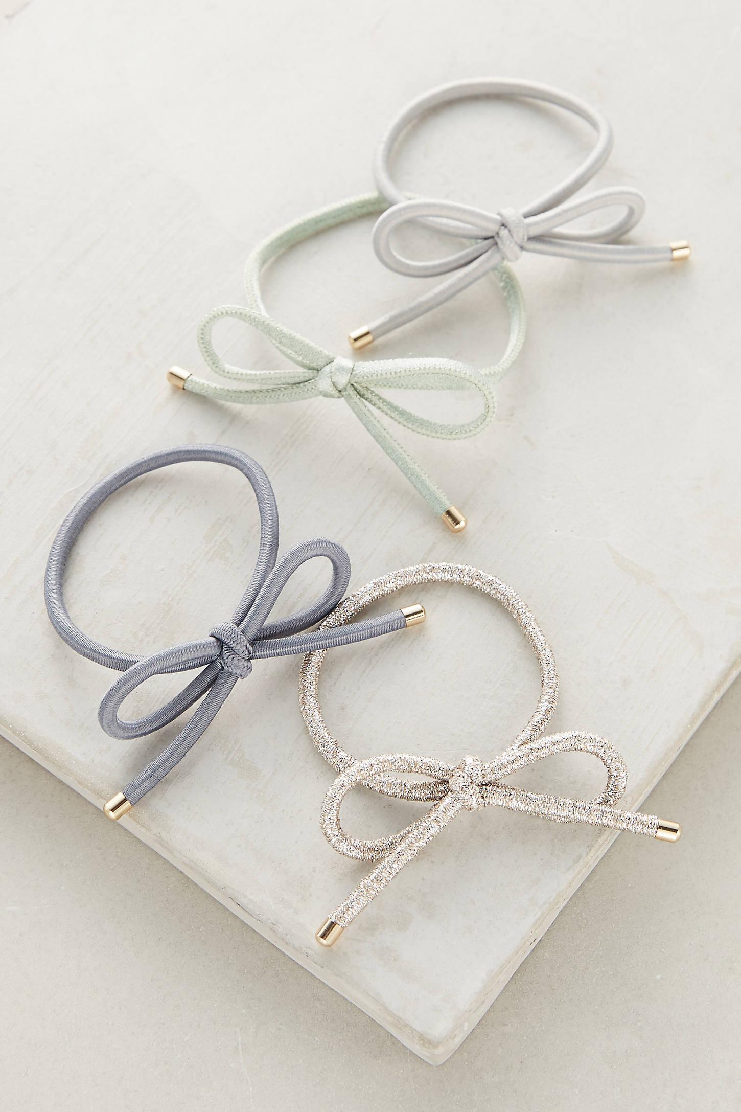 Bow Hair Tie Set