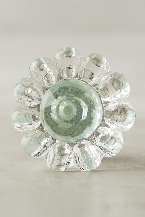 Electra Glass Knob - Mint