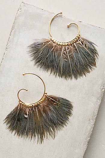 Dusk Songbird Hoops